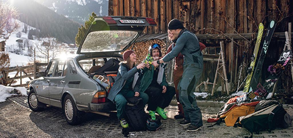 Après-Ski bei den Pinguinen